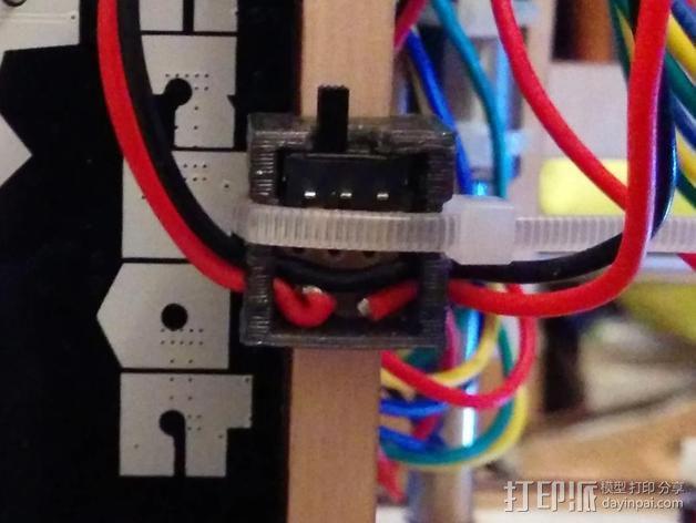 LED灯灯环固定器 3D模型  图6