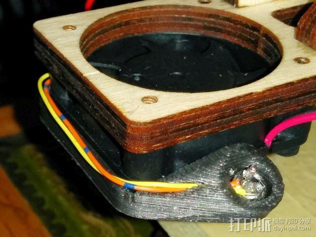 LED灯灯环固定器 3D模型  图5