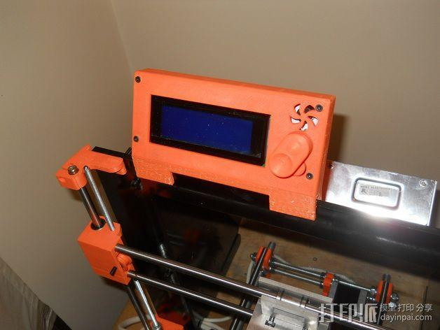 控制器显示屏支架 3D模型  图5