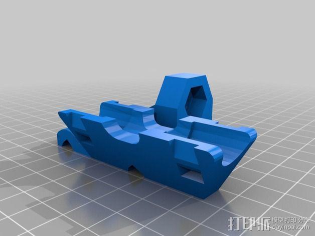 Mix G1打印机X轴部件 3D模型  图4