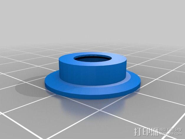 Mix G1打印机X轴部件 3D模型  图3
