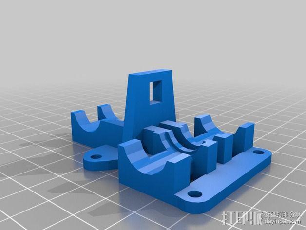Mix G1打印机X轴部件 3D模型  图5