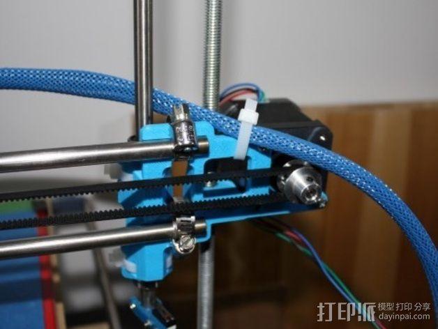 Mix G1打印机X轴部件 3D模型  图7