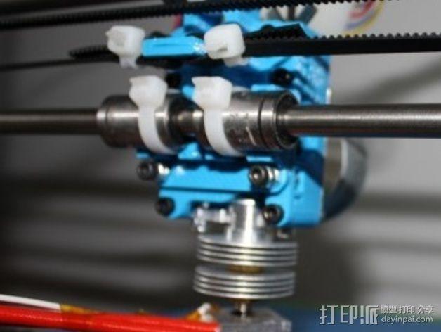 Mix G1打印机X轴部件 3D模型  图8