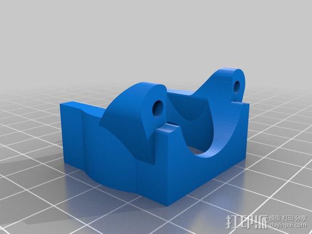 E3D喷头支架 3D模型  图2