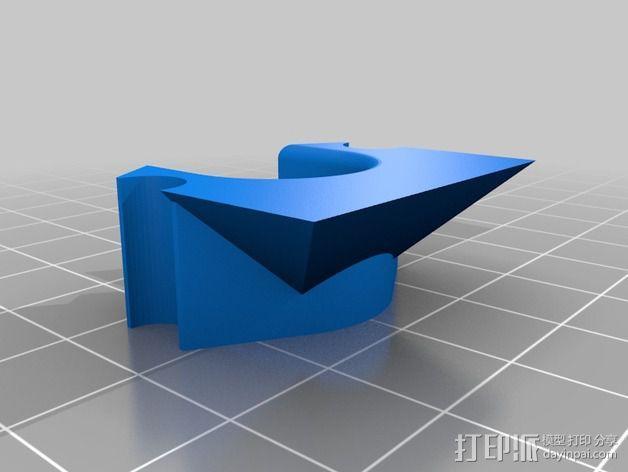 E3D喷头支架 3D模型  图3