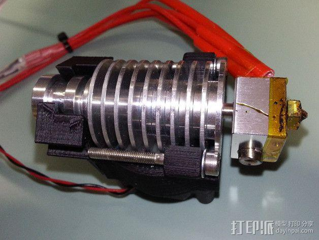 E3D喷头支架 3D模型  图5