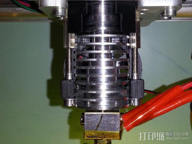 E3D喷头支架 3D模型  图4
