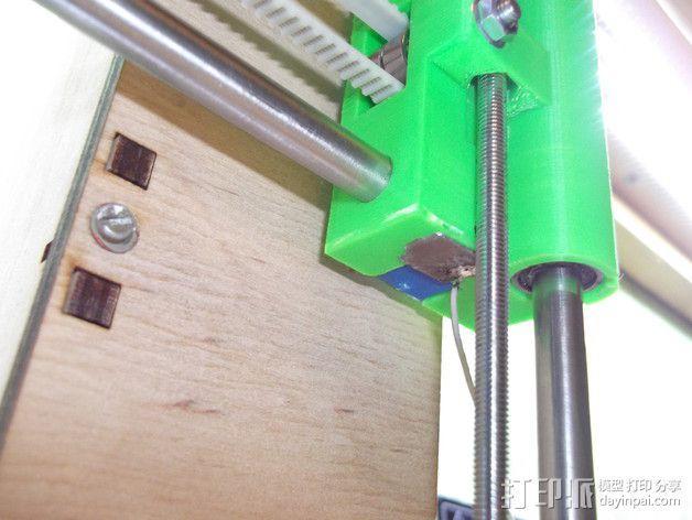 打印机Z轴限位开关 3D模型  图4