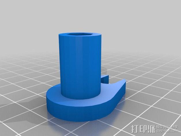 打印机Z轴限位开关 3D模型  图2