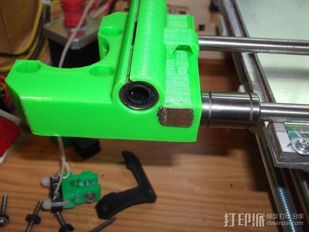 打印机Z轴限位开关 3D模型  图7