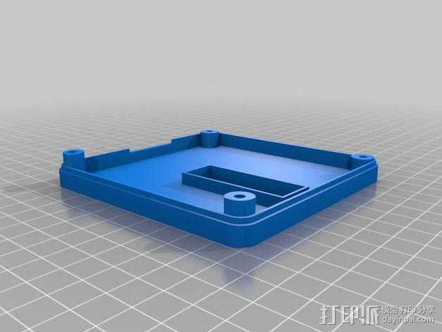 智能控制器保护外盒 3D模型  图3