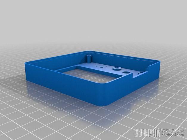 智能控制器保护外盒 3D模型  图4