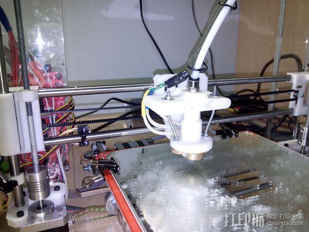 喷头支架 3D模型  图6