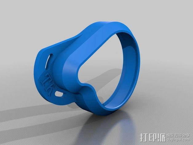 齿轮罩 3D模型  图3