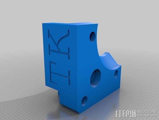 齿轮罩 3D模型  图4