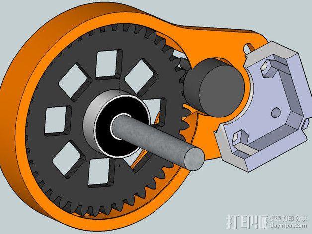 齿轮罩 3D模型  图7