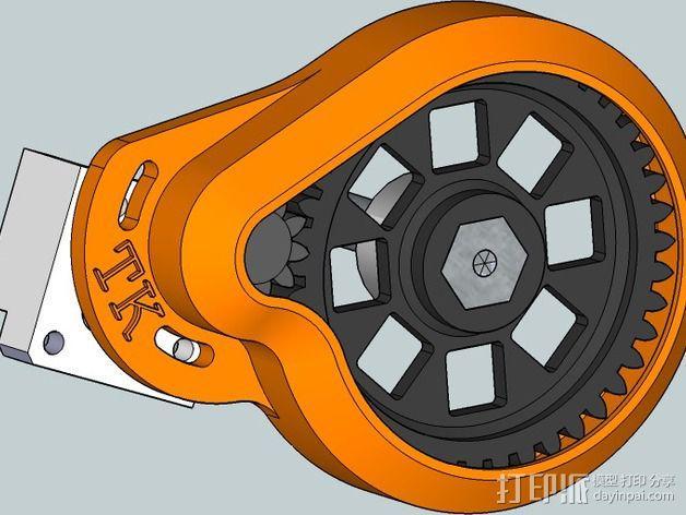 齿轮罩 3D模型  图6
