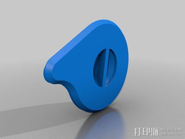 齿轮罩 3D模型  图5