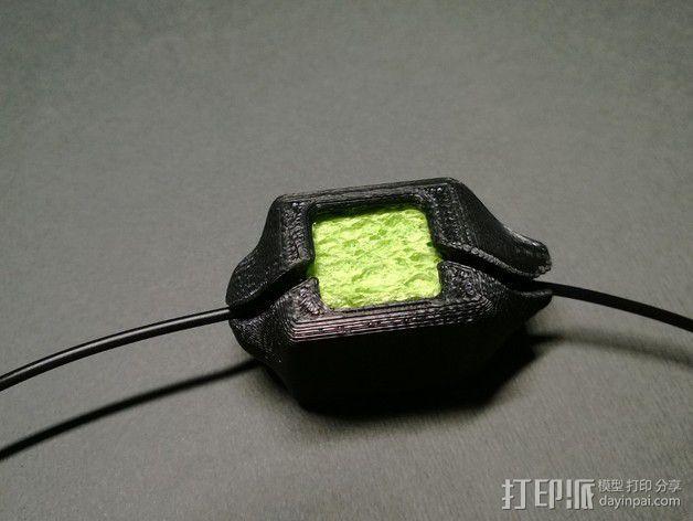 线材清洁器 滤尘器  3D模型  图4