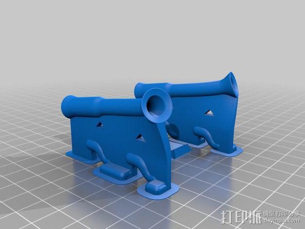 线材清洁器 滤尘器  3D模型  图6