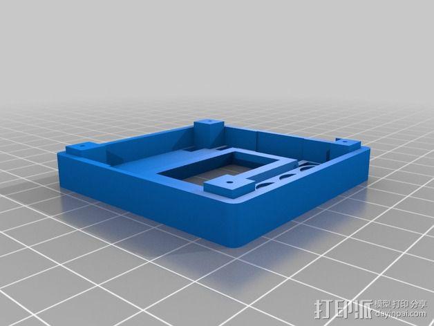 电路板外盒 3D模型  图2
