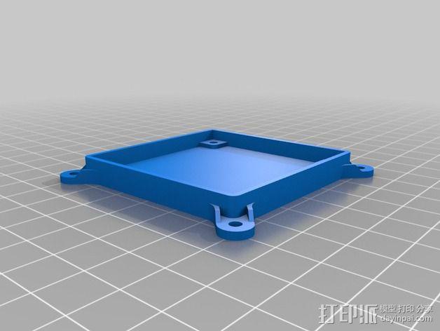 电路板外盒 3D模型  图4