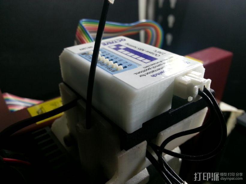 多功能温度开关外盒 3D模型  图1