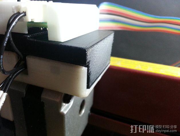 多功能温度开关外盒 3D模型  图2