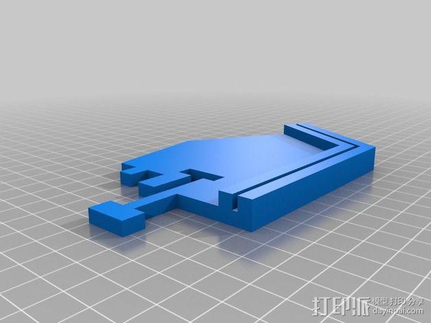 RostockMax 打印机外罩 3D模型  图5