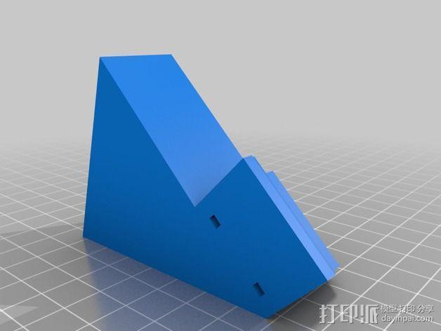 工具箱 工具收纳盒 3D模型  图2