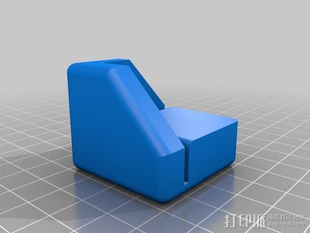 Replicator 2/2X打印机脚垫 3D模型  图3