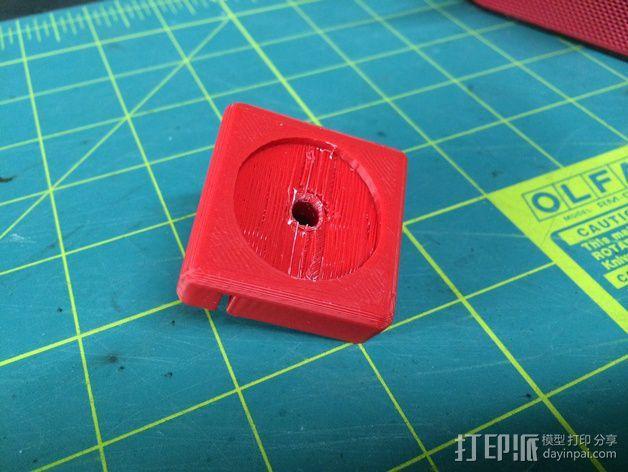 Replicator 2/2X打印机脚垫 3D模型  图10