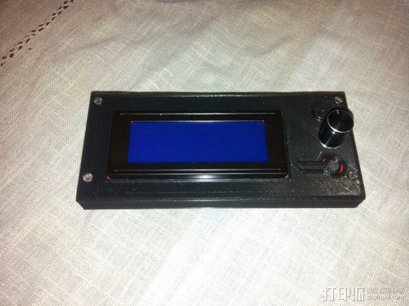 智能控制器电路板外盒 3D模型  图3