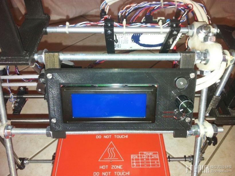 智能控制器电路板外盒 3D模型  图1