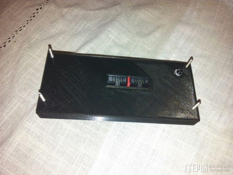 智能控制器电路板外盒 3D模型  图4