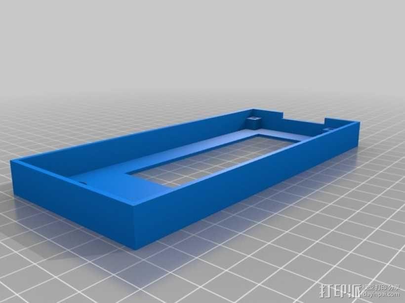 智能控制器电路板外盒 3D模型  图5