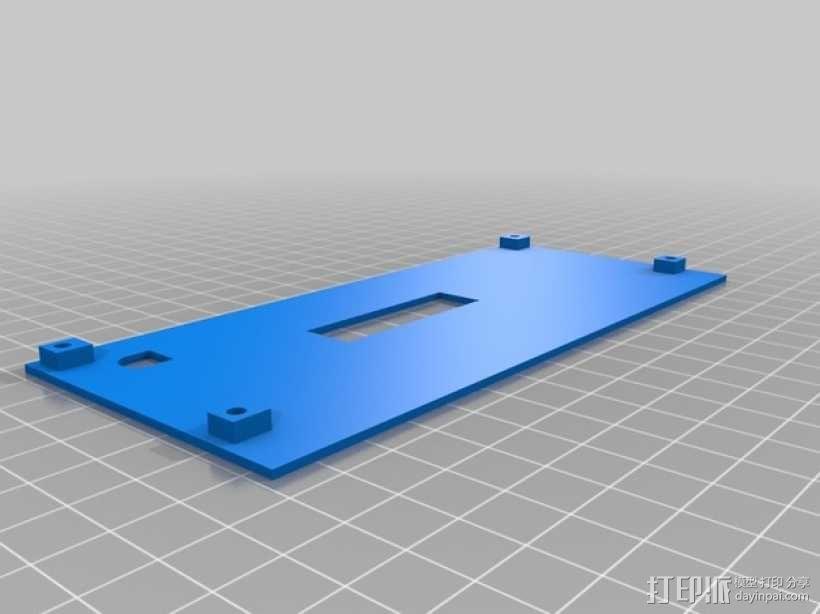 智能控制器电路板外盒 3D模型  图6