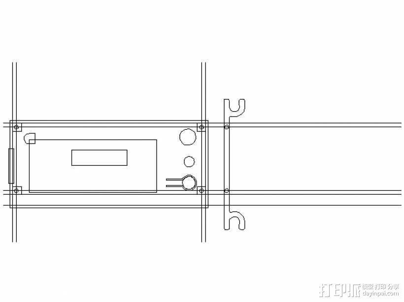 智能控制器电路板外盒 3D模型  图8