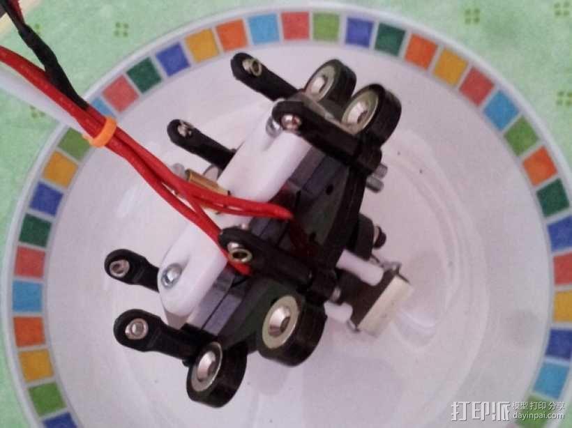 delta式打印机 效应器 连接器 3D模型  图2