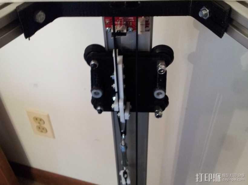 delta式打印机 效应器 连接器 3D模型  图6