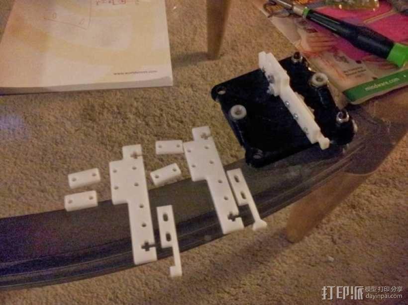 delta式打印机 效应器 连接器 3D模型  图7