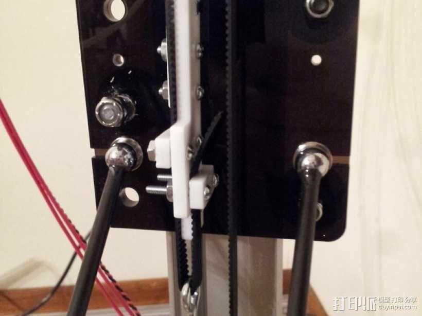 delta式打印机 效应器 连接器 3D模型  图4