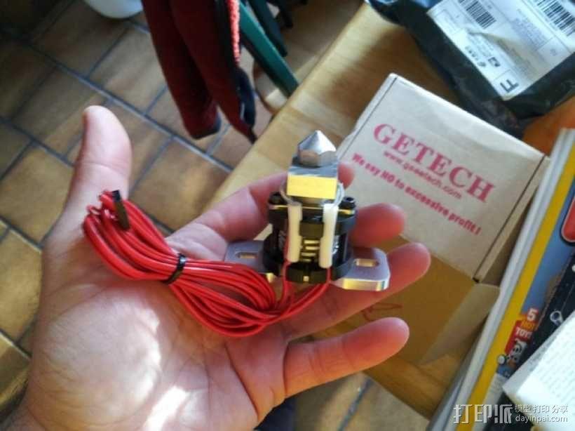 delta式打印机 效应器 连接器 3D模型  图9
