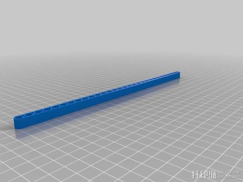 乐高横梁 3D模型  图5