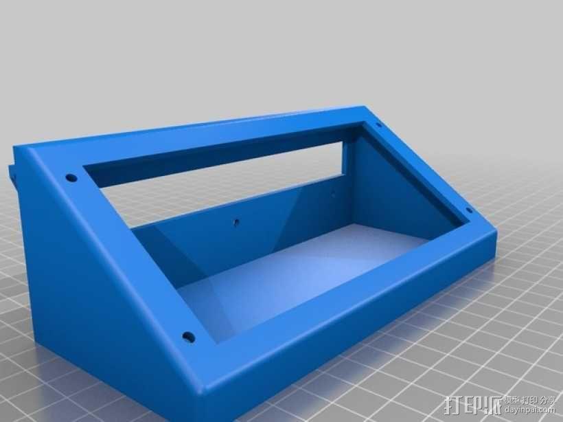 显示屏支撑架 3D模型  图2