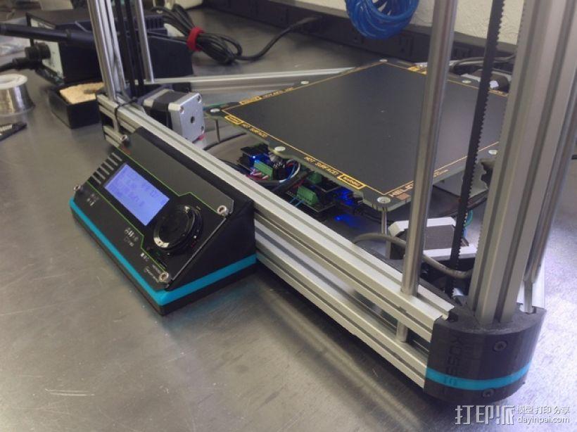 显示屏支撑架 3D模型  图3