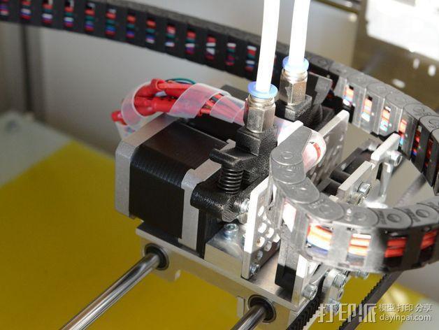 弹簧加压式挤出机 3D模型  图6