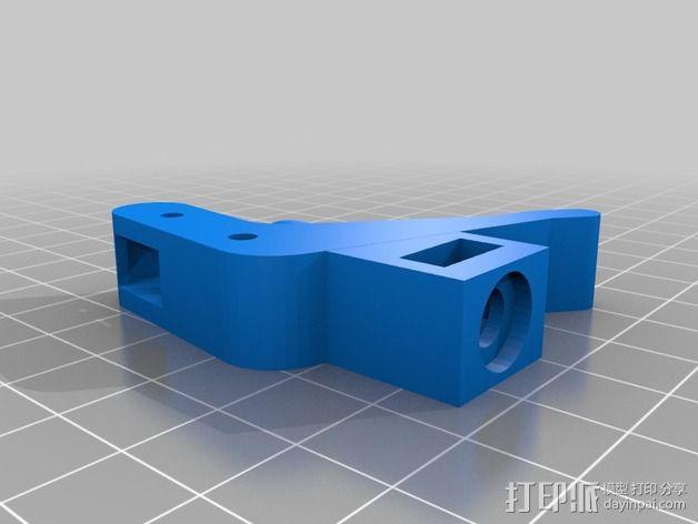 弹簧加压式挤出机 3D模型  图3
