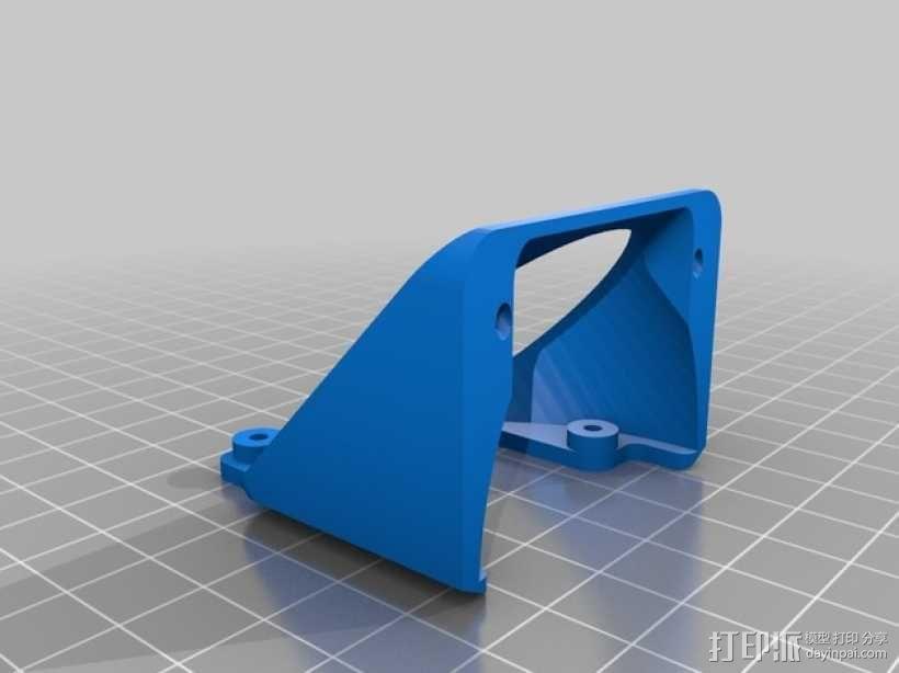 风扇支架 3D模型  图6